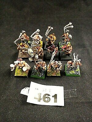 £10 • Buy (AB461)  Warhammer Chaos Marauders With Flails Painted  X12