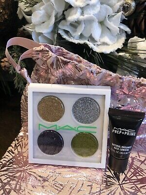 MAC Underground Limited Edition Bio Brilliant Glitter Eye Shadow X 4 And Primer • 35.73£