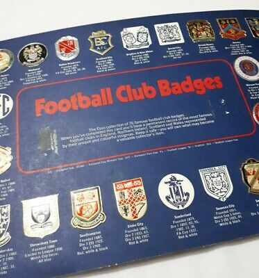 The Esso Collection Of Football Club Badges (Not Complete) Inc Duplicate Badges  • 22£