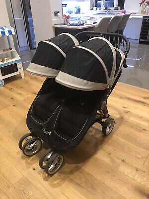 Baby Jogger City Mini Double Pushchair - Black • 300£