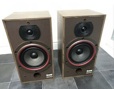 B&W DM110 Bowers And Wilkins Floor Standing Speakers Audiophile England Made 2 • 175£