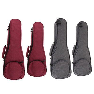 AU23.83 • Buy 21 23 24  Adjustable Ukulele Gig Bag Uke Case With Adjustable Shoulder Strap