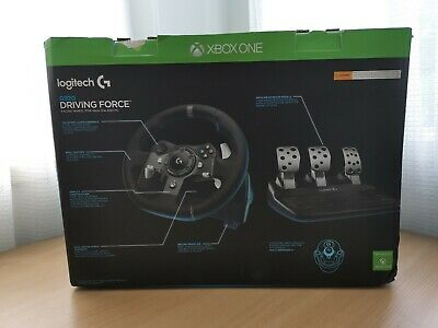 AU299 • Buy Logitech G920 Driving Force Racing Wheel For PC & XBOX ONE