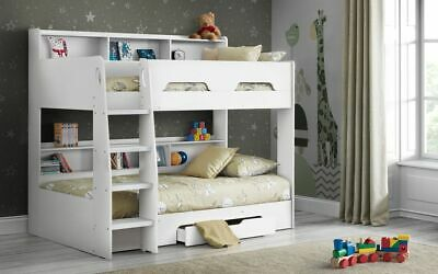 £499.99 • Buy Orion Bunk Pure White Childrens Kids Bed  2 Man Delivery By Appointment
