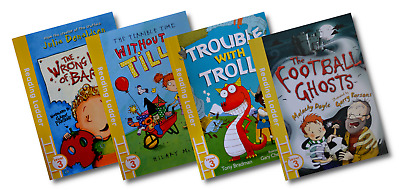 Reading Ladder Level 3 – Early Reading [4 Book Set] (PB) • 7.49£