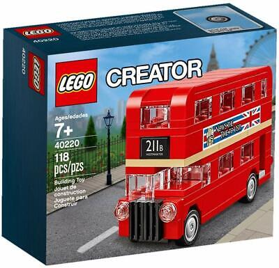$ CDN21.21 • Buy Lego 40220 Creator Double Decker London Bus 118 Pièces Neuf