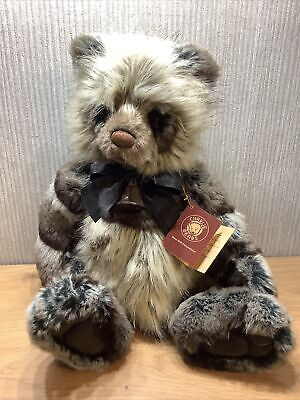 £144.46 • Buy Charlie Bear Plush Collectable Soft Toy Rare Retired Large Original Tags Romy