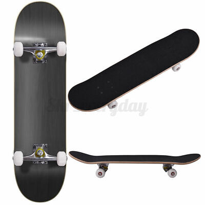 31.5'' Kids Adult Skateboard Complete 7 Ply Maple Board Beginner To Pro Outdoor • 28.27£