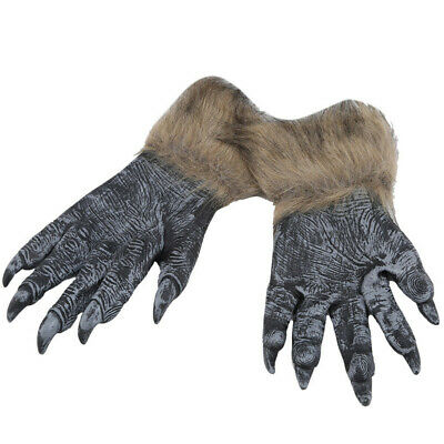 Werewolf Wolf Glove Wolves Gloves Holiday Products Langtou Gloves HalloweenCover • 7.61£