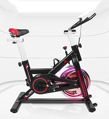 Spin Exercise Bicycle Indoor Cycling Bike For Home Gym Cardio Workout Training • 219.99£