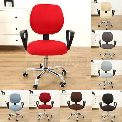 AU16.22 • Buy Swivel Computer Chair Cover Stretch Office Armchair Slipcover Seat