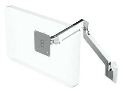 Humanscale M2 Monitor Arm With Slat Wall Mount- Silver Finish With White Trim • 139.99£