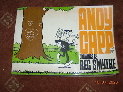 Vintage Old Andy Capp Cartoon Book Booklet 1966 • 75£