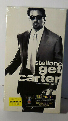 Get Carter VHS Movie New Sealed Classic Film Sylvester Stallone Action Crime  • 6.42£