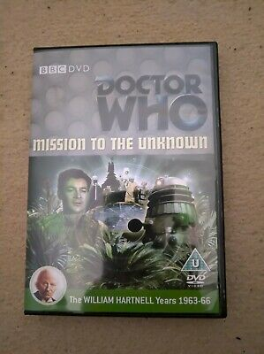 Doctor Who Hartnell Mission To The Unknown Custom Recon Dvd Case & Free Extras • 5.49£