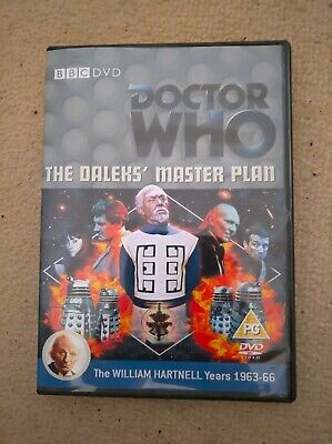 Doctor Who William Hartnell The Daleks Masterplan Custom Recon Dvd Case &extras • 5.49£