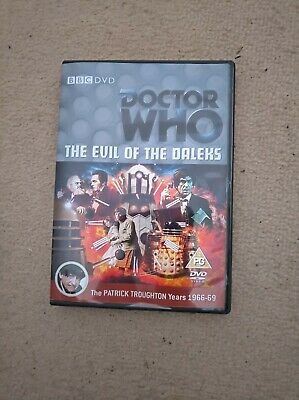 Doctor Who Patrick Troughton The Evil Of The Daleks Custom Recon Dvd Case&extras • 5.49£