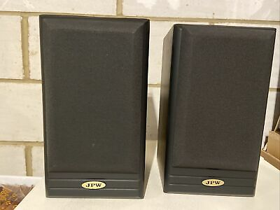 JPW ML310 Speakers. 60 Watts. Made In England-SUPERB SOUND. COLLECTION ONLY • 29.50£