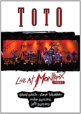 £11.03 • Buy Toto-Live At Montreux 1991 DVD NEW