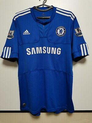 Size L Chelsea 2009-2010 Home Football Shirt Jersey • 40£
