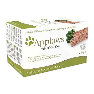 Applaws Cat Food Pate Multipack Fresh Selection 7x100g 1 Adult • 26.99£