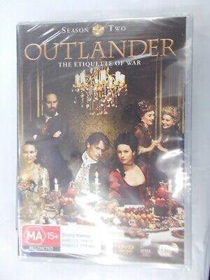AU15.95 • Buy Outlander Season Two DVD Etiquette Of War Region 4  Australian Format.