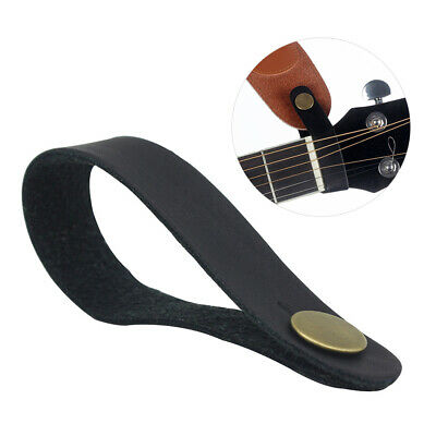 $ CDN8.17 • Buy Classical Acoustic Guitar Neck Strap Button Black Synthetic Leather Hot S8B7