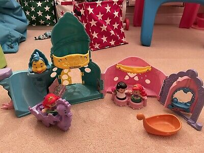 Fisher Price Disbey Little People Ariel Set • 8£