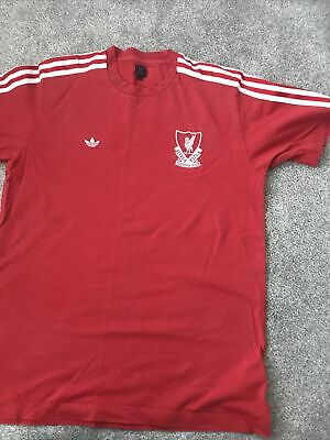 Mens Liverpool Addidas Tshirt Size Medium • 0.99£