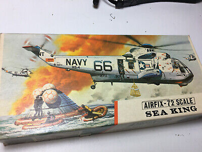 Seaking Helicopter 1/72 Vintage Airfix Redstripe Model Kit All Complete See Pics • 14.99£
