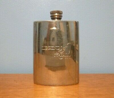 £10 • Buy Pewter Hip Flask, Sheffield, Made In England, 4 Oz