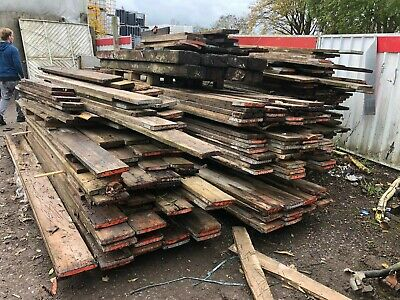 Reclaimed Used Scaffold Boards  £ 1.50 Per Foot !  • 1£