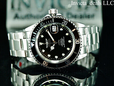 $ CDN107.60 • Buy Invicta Men's 40mm Pro Diver SUBMARINER AUTOMATIC NH35A Black Dial Silver Watch