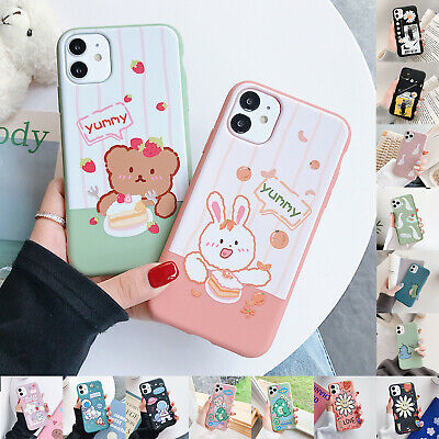 AU7.99 • Buy For IPhone 11 Pro Max 11 XS XR 8 7 Plus Pattern Cute Soft Silicone Case Cover