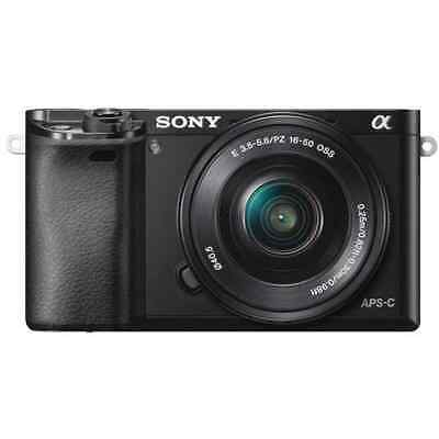$ CDN995.18 • Buy Sony Alpha A6000 Mirrorless Camera (Black) With 16-50mm Lens Kit