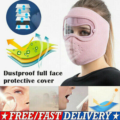 Face Shield Full Face Visor Protection Mask PPE Shield Clear Transparent Plastic • 4.25£
