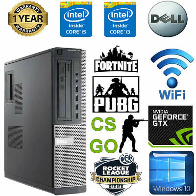 Cheap Gaming PC Dell Optiplex Quad I5 8GB Ram 1TB SSD Nvidia Geforce 1030 KIDS • 141£