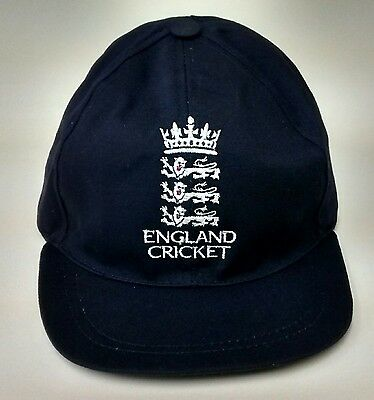 England Crest Navy Blue Baseball Style Cricket Caps,Size Adult 62cm @ £10.95p • 10.95£