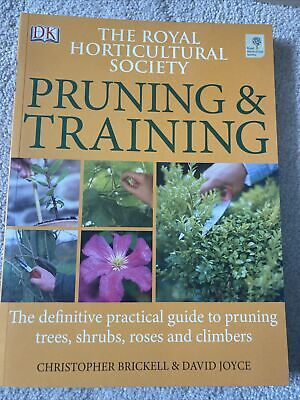 The Royal Horticultural Society Pruning And Training (RHS),Christopher Brickell • 2.60£