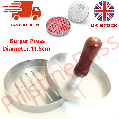£5.94 • Buy Non-Stick Burger Press Patty Maker Mould Meat Ham Beef Grill BBQ Kitchen UKSTOCK