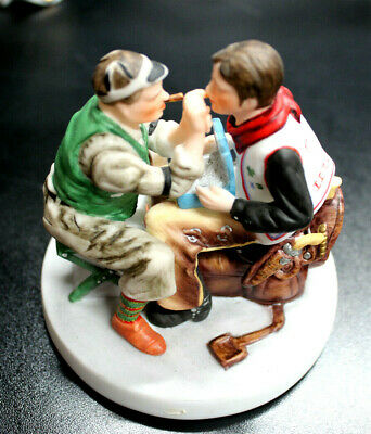 $ CDN12.75 • Buy Norman Rockwell Figurine By Gorham 1988 LIMITED NUMBERED ALSO 2 OTHER FIGURINES