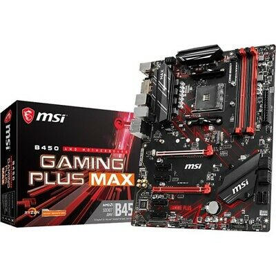 AU162.25 • Buy MSI B450 GAMING PLUS MAX Desktop Motherboard - AMD Chipset - Socket AM4 - ATX