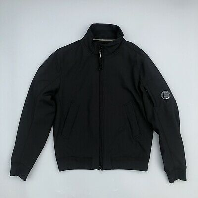 Cp Company Soft Shell Bomber Jacket Black RRP £295 Osti Casuals • 195£