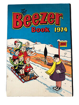 The Beezer Book (Annual) 1974 - Vintage Comic  • 0.99£