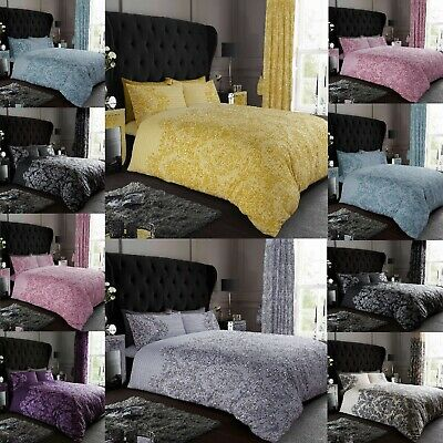 £14.99 • Buy Luxury Empire Damask Duvet /Quilt Cover  Reversible Bed  Set With Pillow Cases