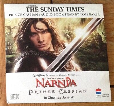 Audio Book Cd - The Chronicles Of Narnia - Prince Caspian - Newspaper Promotion • 1.45£