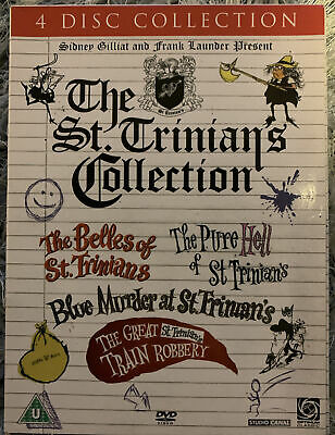 The St. Trinians Collection -   4 Disc Dvd Set  • 10£