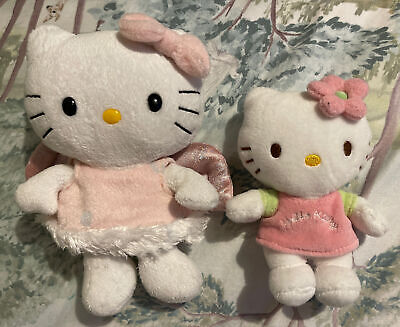Hello Kitty Soft Plush Toys X2 • 3£
