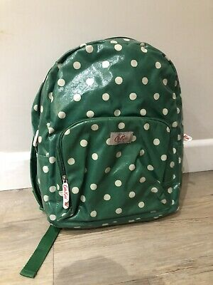 Cath Kidston Kids Green Spotted Rucksack - Great Condition  • 0.99£