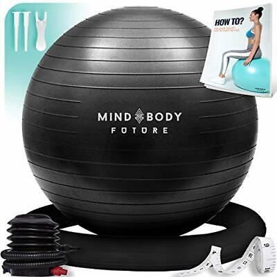 Yoga Ball Chair - Exercise Ball & Stability Ring. For Pregnancy, Balance, • 33.99£